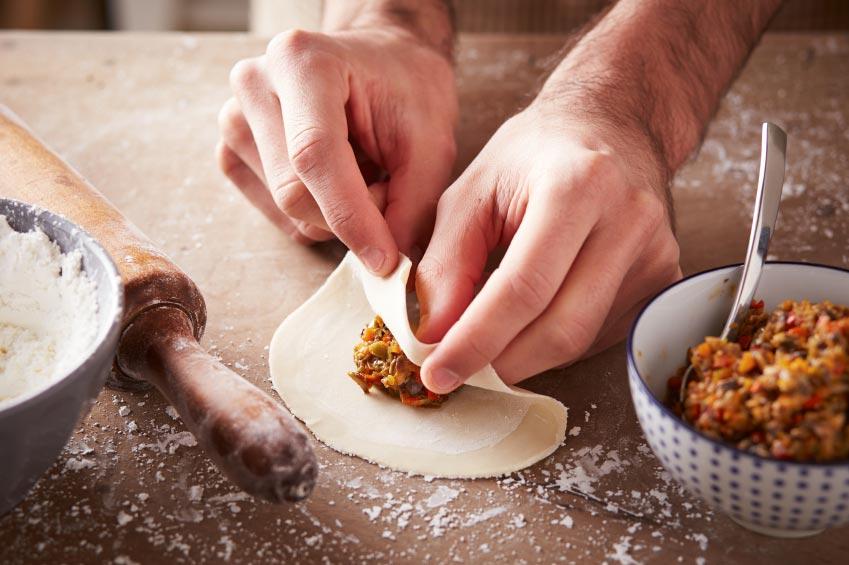 קייטרינג מרלו - רביולי במילוי בשר